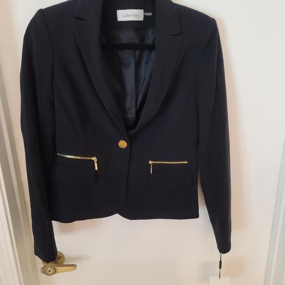 Calvin Klein Skirt Business Suit...